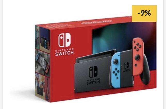 Consolas Nintendo Switch com jogos