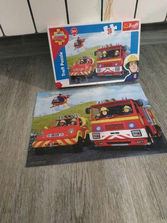 Puzzle Strażak SAM 3+