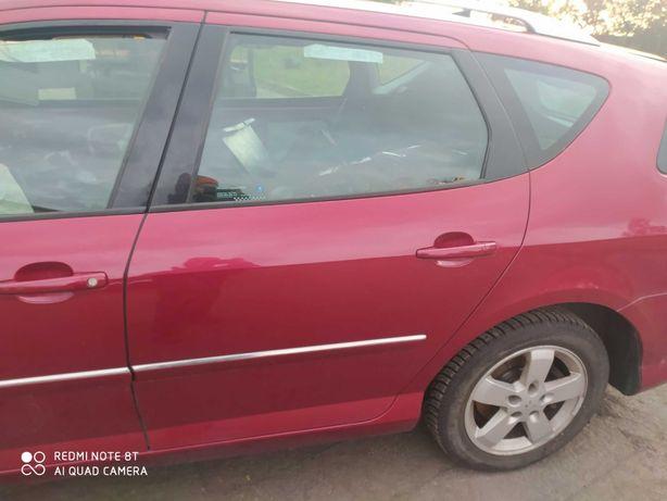 Peugeot 407 SW drzwi lewy tył