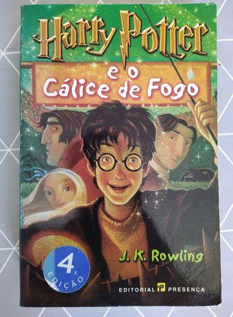 Harry Potter e o Cálice de Fogo.