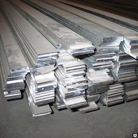 Шина алюминиевая, полоса 10х100х3000 мм АД31Т 4х40, 5х50, 8х80, 10х100