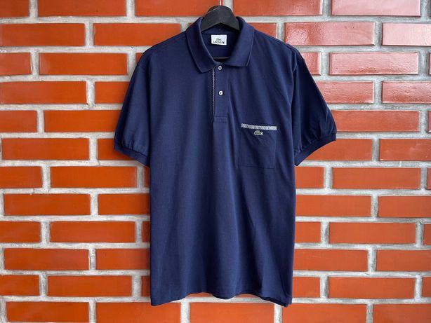 Lacoste оригинал мужская футболка поло размер L XL лакост Б У