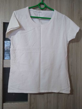 biała koszulka M