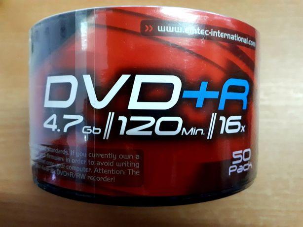 CD/DVD/DVD+R 4.7 Gb Emtec чистые диски болванки ОПТ Киев