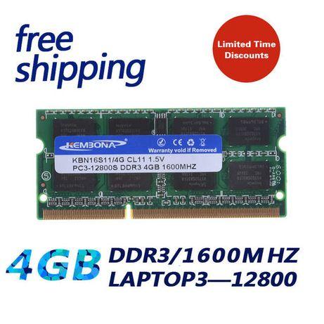 Оперативная память Kembona DDR3 4GB 1600 МГц RAM SO-DIMM новая