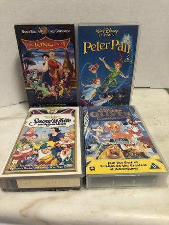 Cassetes filmes Disney
