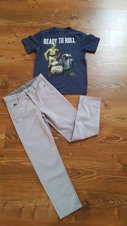 Брюки LC waikiki серый котон и футболка на мальчика 10 - 11 лет