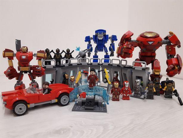 LEGO (Лего) Marvel, Super Heroes, DC, Indiana Jones, Hidden Side и др.