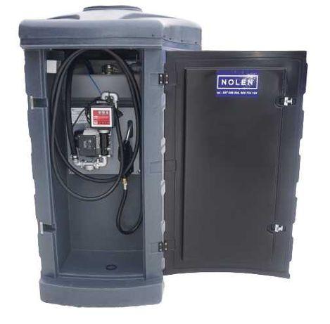 Zbiornik dwupłaszczowy na paliwo paliwa  1500L MX