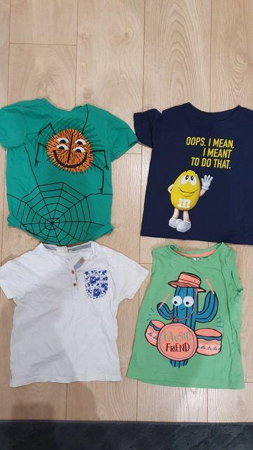 Koszulki dla chłopca rozmiar  104 cm