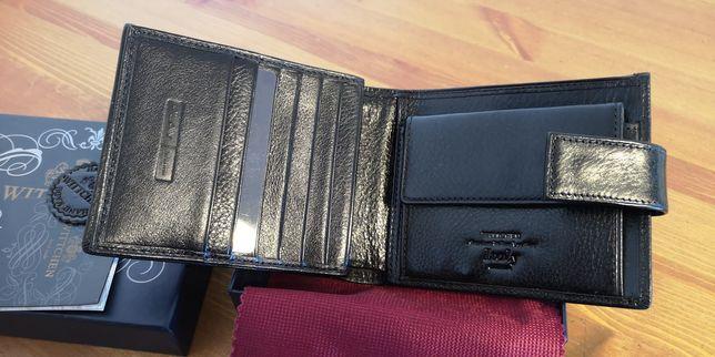 WITTCHEN portfel NOWY skóra