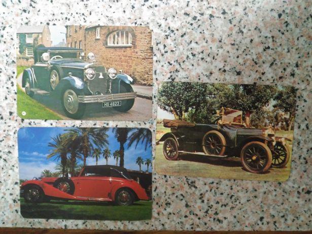 Calendários de bolso - carros antigos