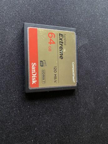 CF SanDisck de 64GB