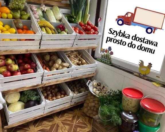 Świeże owoce, warzywa, kiszonki, jaja z szybką dostawą do domu
