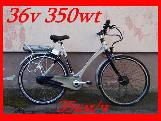Электро-велосипед електро-велосипед РУЧКА ГАЗА!  планетарка Новый!