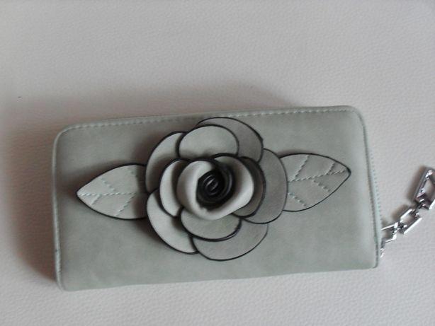 Elegancki portfel damski na prezent
