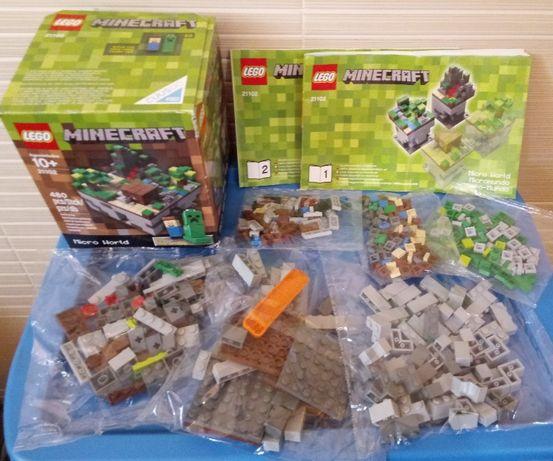 Lego Minecraft 21102 - Cuusoo Project 2012 года
