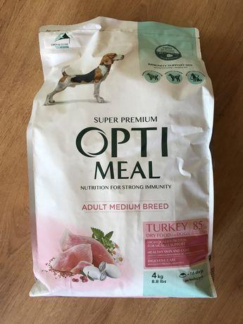 Корм Optimeal с индейкой для взрослых собак