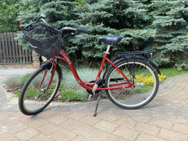 Używany damski rower miejski