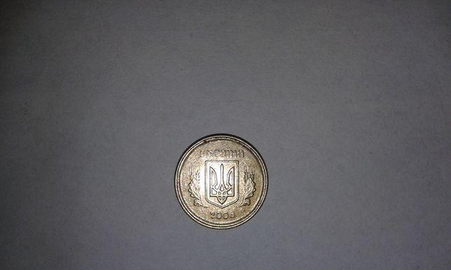 10 копеек 2008г. Украина, двойной кант. 10 копійок.