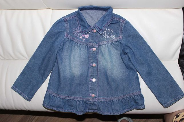 Джинсовая куртка Gloria Jeans на 6 лет
