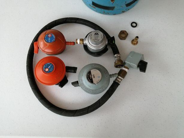 Vários  acessórios redutores gaz
