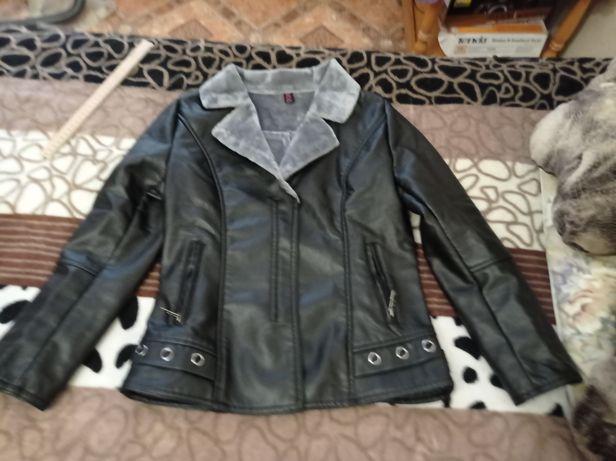 Куртка искусственная кожа (весна-осень)