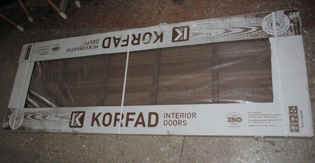 Дверне полотно двері дверь Korfad 70 (з невеликим дефектом за пів ціни