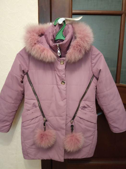 Зимняя куртка на девочку Конотоп - изображение 1