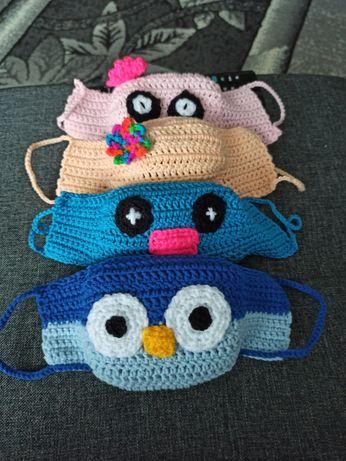 Maseczki dla dzieci :) handmade