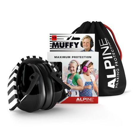 Ochronniki słuchu dla dzieci Alpine Muffy Black