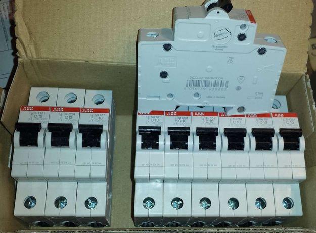 Aparaty elektryczne na szynę ISO