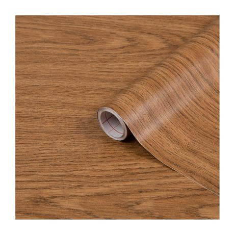 Okleina meblowa folia samoprzylepna dąb jasny szerokość 45