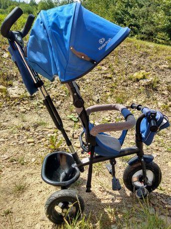 Rower dziecięcy trójkołowy Kinderkraft Swift niebieski