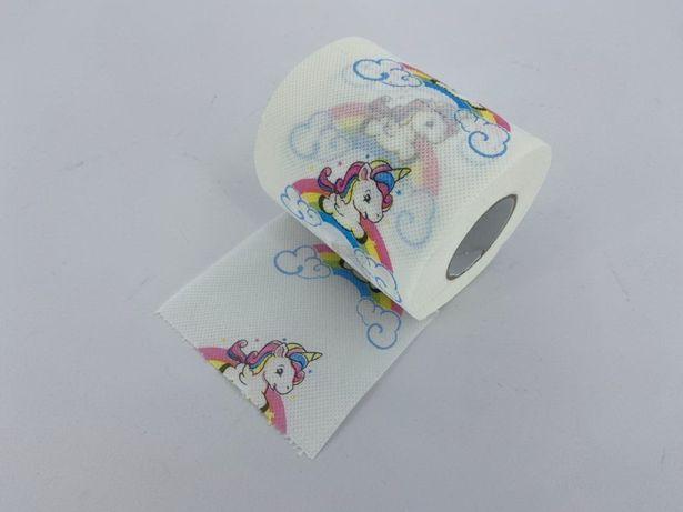 Детская туалетная бумага Единорог сюрприз, прикол, подарок