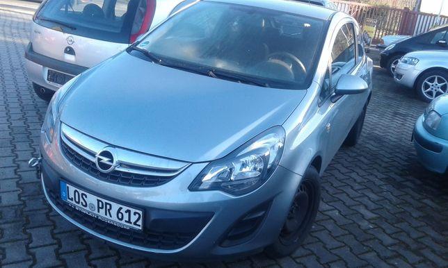 Opel Corsa 1.2 2014 z Niemiec uszkodzony silnik