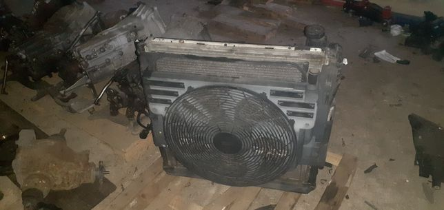 BMW x5 e53 3.0i chłodnice wentylator