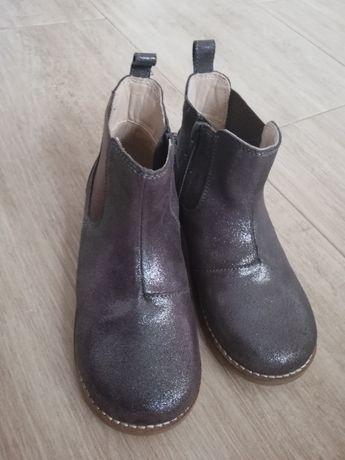 Buty skórzane trzewik wiosna r. 30