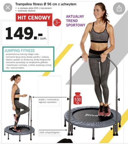 Trampolina fitness