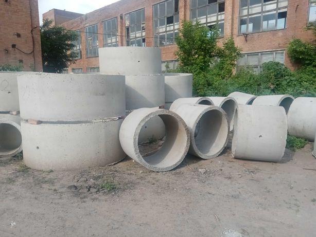 Бетонные кольца канализационные