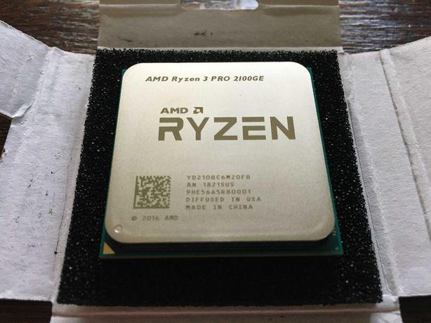 Процессор AMD Ryzen 3 PRO 2100GE 3.2GHz sAM4 Tray 8200 р