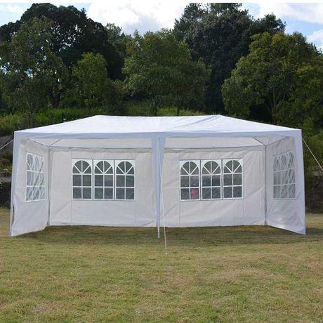 Садовый павильон, коммерческая палатка 3х6 м, 4 стенки в комплекте