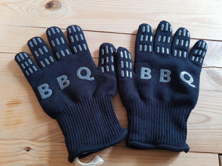 Rękawice ochronne BBQ do grilla, ogniska, pieca, kominka Wągrowiec - image 1