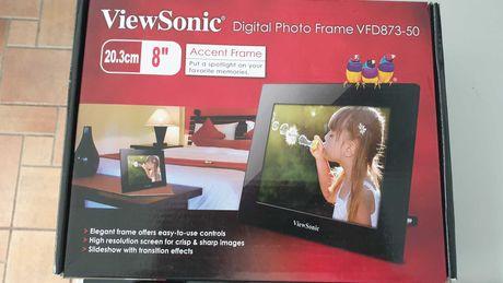 Moldura Digital ViewSonic 8'' - 20,3Cm