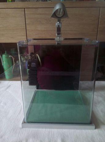 Akwarium Wave Box 30 + wposażenie oświetenie lampka filtr pompka