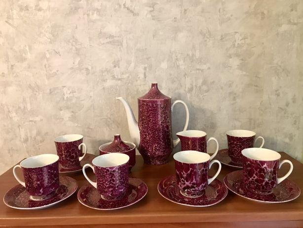 Ćmielów  porcelana serwis kawowy zestaw do kawy