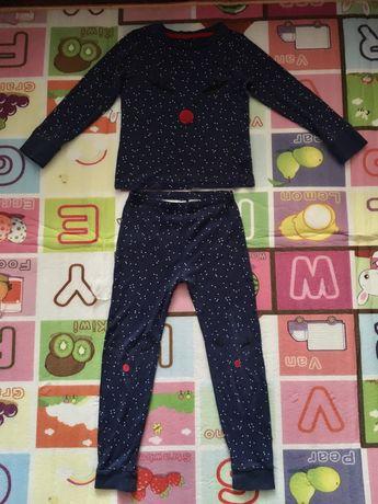 Детская пижама, 100% хлопок, 6-7 лет
