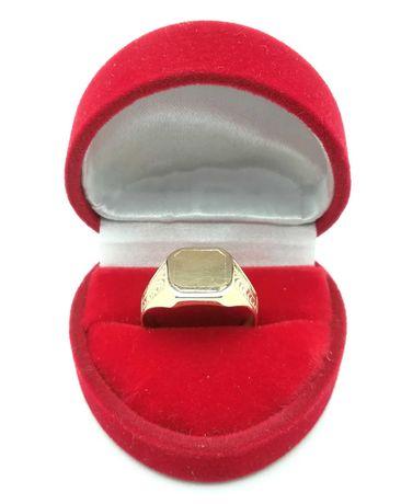 Piękny złoty sygnet p585 4,10g R16
