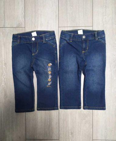 Gymboree NOWE spodnie jeansowe, jeansy, 86, bliźniaki dla bliźniaków