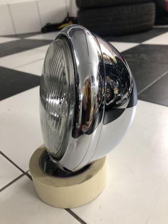 Lampa chrom 5 cali szeroka na 18 cm